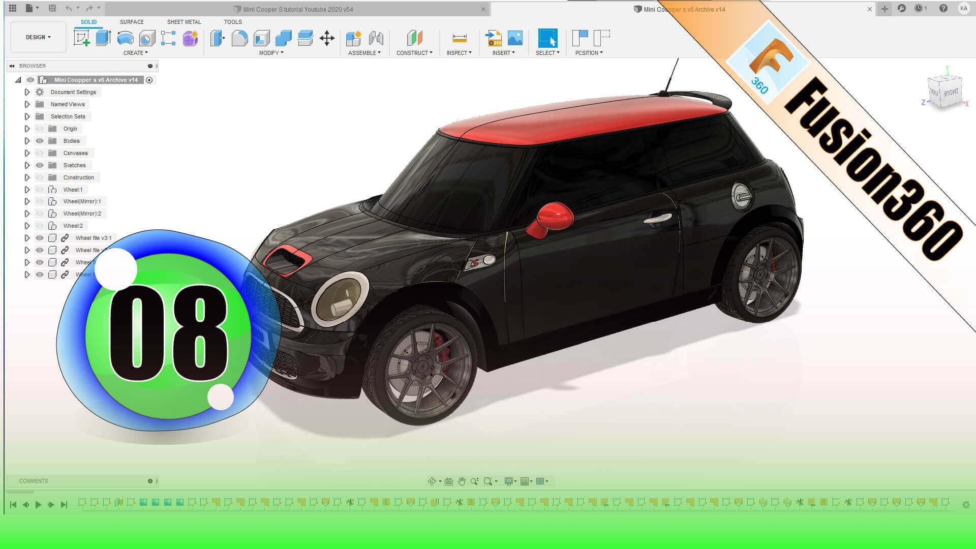F360 Mini Cooper S EP08 1