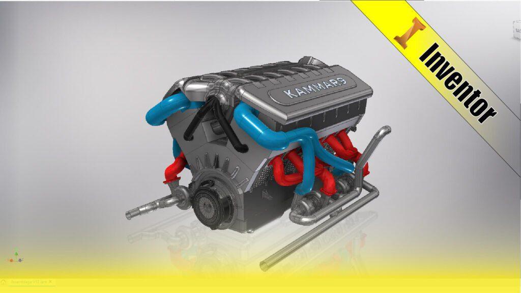 Inventor V12 engine EP 00