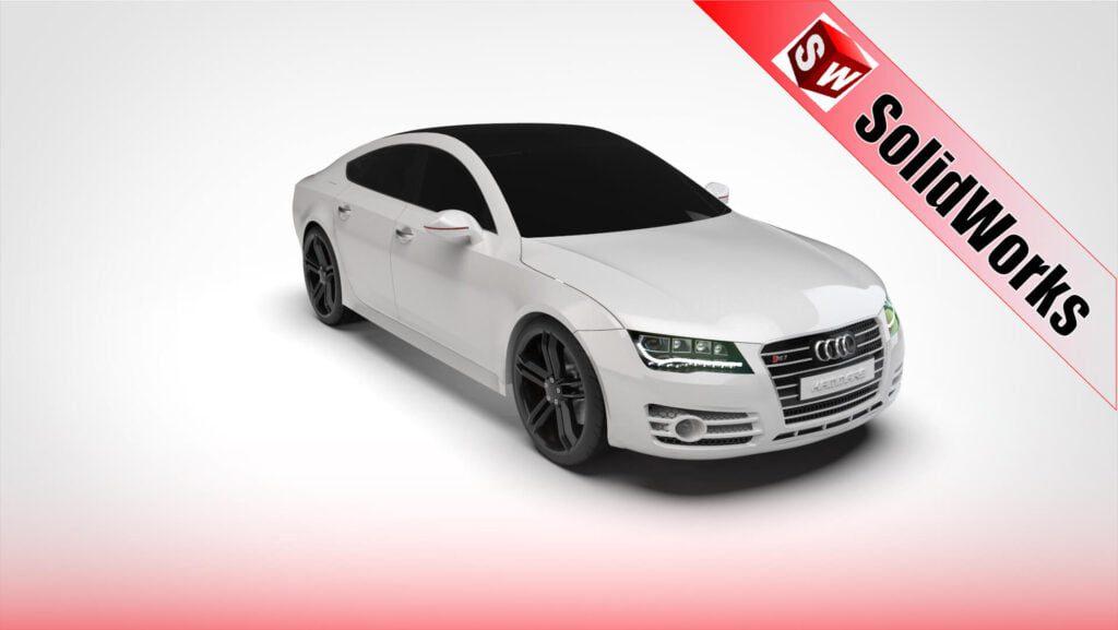 Solidworks-Modeling-Audi-Rs-7